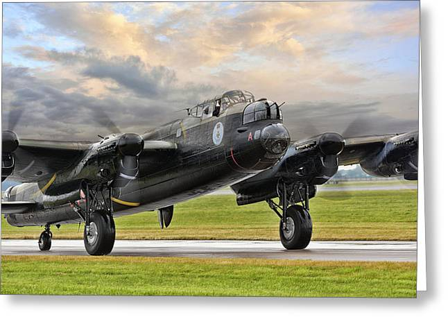 Lancaster Vera From Canada Greeting Card by Jason Green
