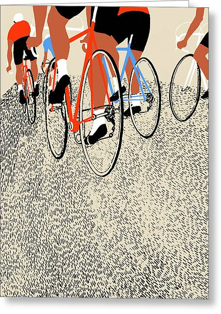 Action Sports Prints Greeting Cards -  Legs Greeting Card by Eliza Southwood