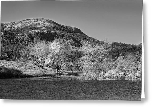 Photographs Digital Art Greeting Cards -  Long Pond Acadia National Park Mount Desert Island Maine Greeting Card by Keith Webber Jr