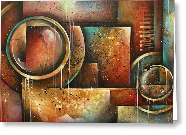 Portal Paintings Greeting Cards -  Looking Back Greeting Card by Michael Lang