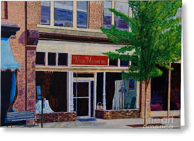 Downtown Franklin Greeting Cards -  Magic Memories Greeting Card by Arthur Witulski