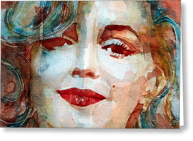 Marilyn   Greeting Card by Paul Lovering