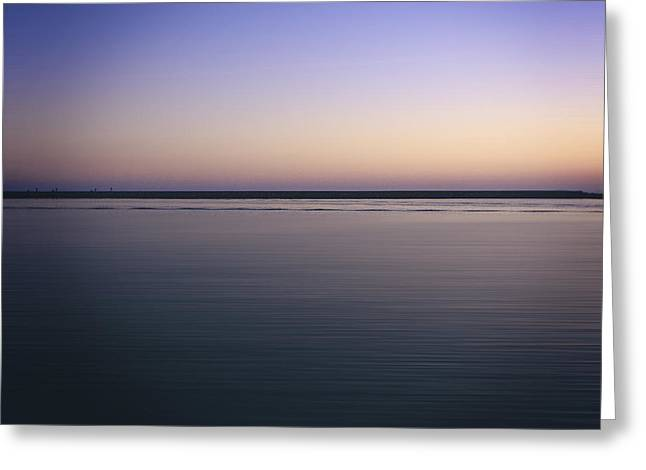 """timed Exposure"" Greeting Cards -  Mediterranean sea. Provence. France Greeting Card by Bernard Jaubert"
