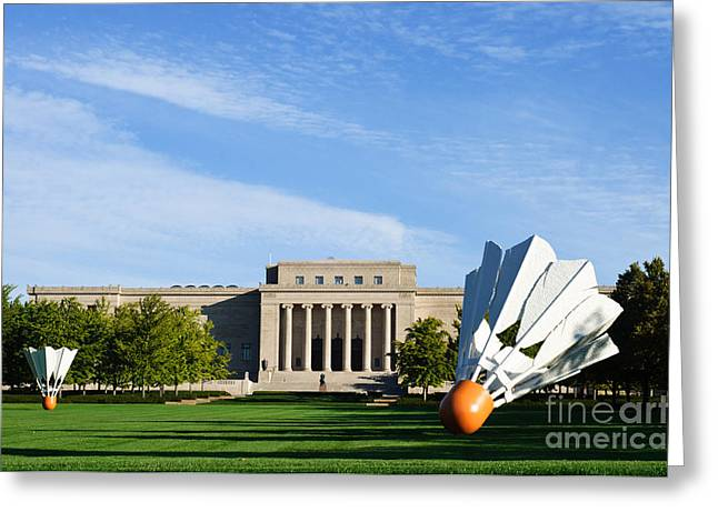 Kansas City Greeting Cards -  Nelson Adkins Art Museum Greeting Card by Andee Design