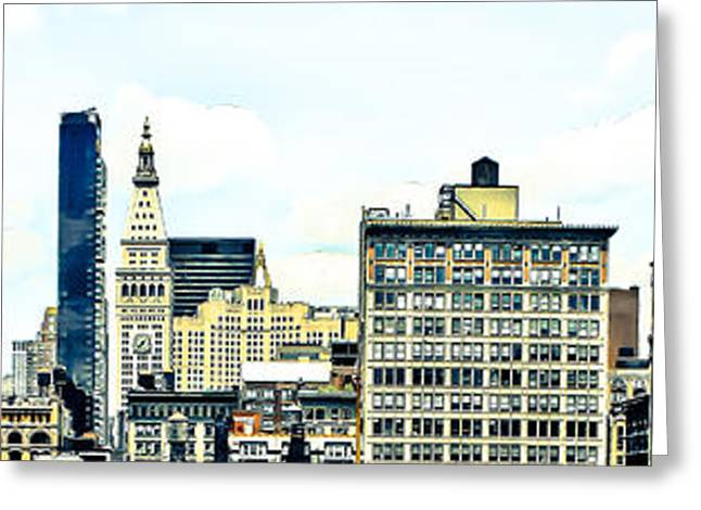 Union Square Photographs Greeting Cards -   New York City Greeting Card by Ken Marsh