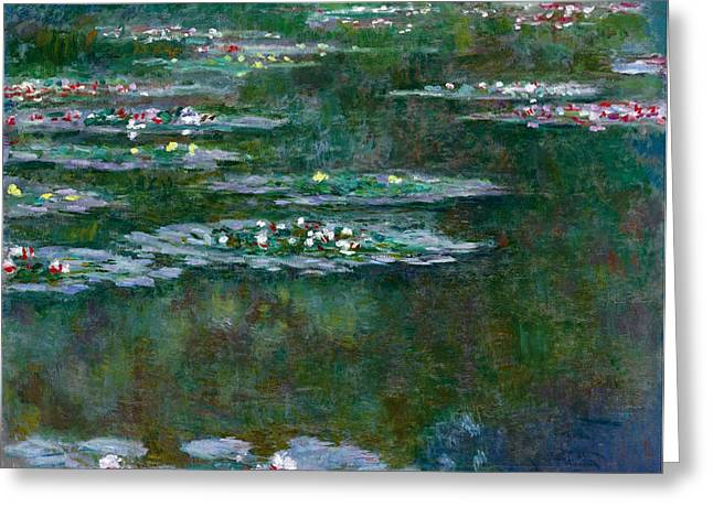 Bassin Greeting Cards -  Nympheas Greeting Card by Claude Monet