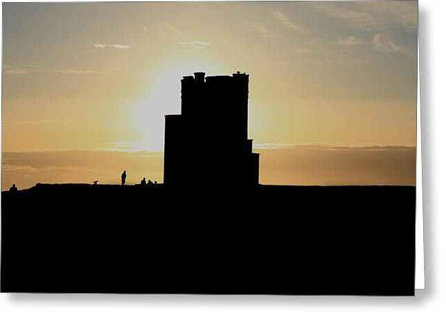 Most Visited Greeting Cards -  Briens Tower Greeting Card by Aidan Moran