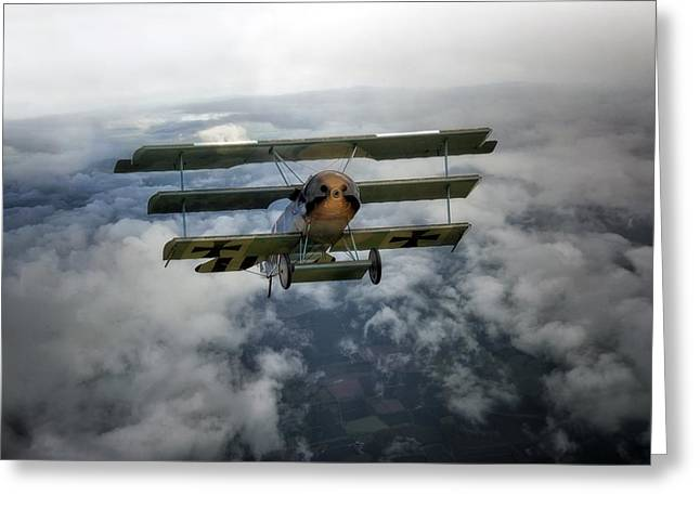 Baron Greeting Cards -  Pioneers of Aviation Greeting Card by Jason Green