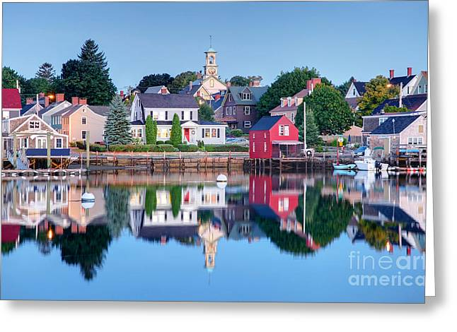 Recently Sold -  - Residential Structure Greeting Cards -  Portsmouth New Hampshire Greeting Card by Denis Tangney Jr