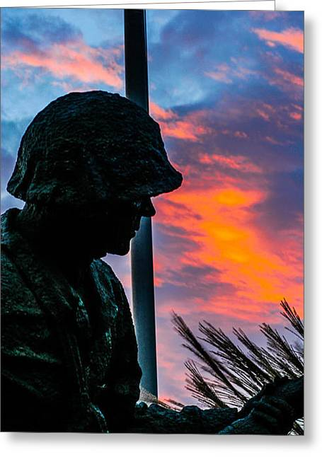 Sunrise Sculptures Greeting Cards -  Pride and Proud Greeting Card by Jeff Lantz