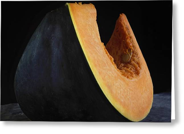 Part Of Greeting Cards -  Pumpkin Greeting Card by Bernard Jaubert