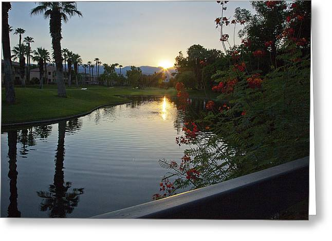 Golf Photographs Greeting Cards -  Reflections  Greeting Card by Gilbert Artiaga