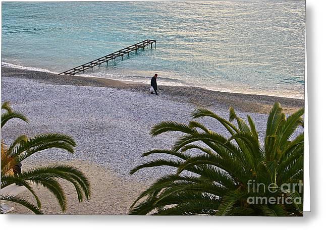 Portofino Italy Digital Greeting Cards -  Remembrance Greeting Card by Heidi Peschel