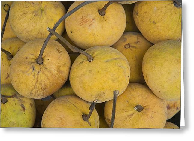 Santol Greeting Cards -  Santol fruit for sale Greeting Card by Ingo Jezierski