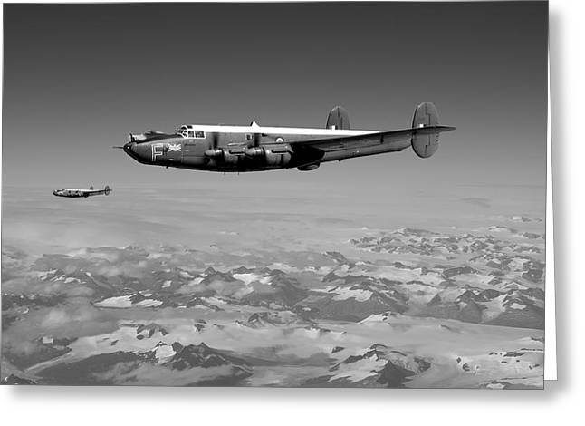 Military Airplane Greeting Cards -  Shackleton MR2 Greeting Card by Pat Speirs