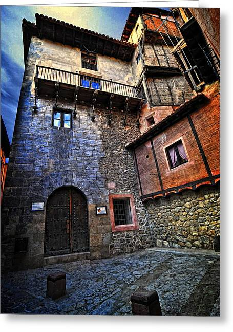 Spanish Architecture Design6 Greeting Card by Sheila Savage