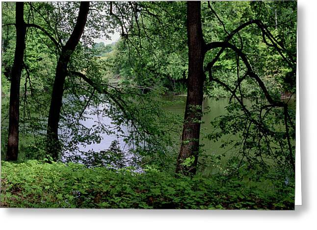 Landscape Photograph Greeting Cards -  Spasskoye Lutovinovo Greeting Card by Anonymous