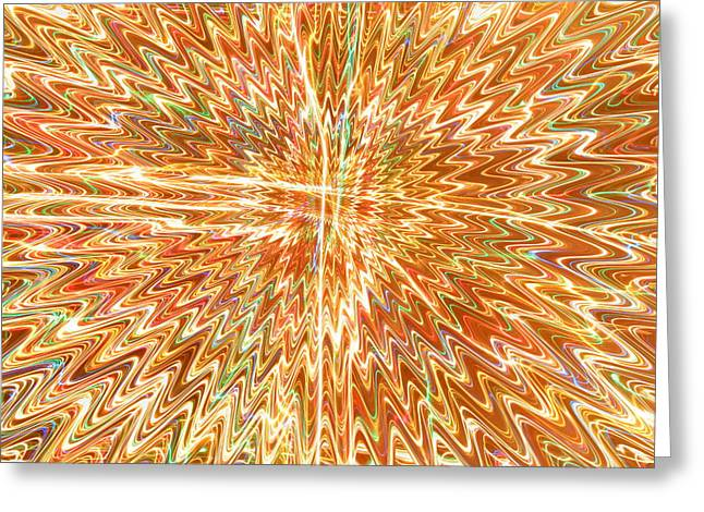 Rainbow Fantasy Art Greeting Card Greeting Cards -  Star Light Of Christmas Greeting Card by Julia Fine Art And Photography