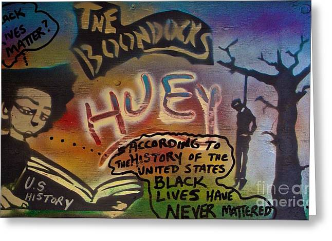 Sit-ins Greeting Cards -  The Boondocks  Huey  Greeting Card by Tony B Conscious