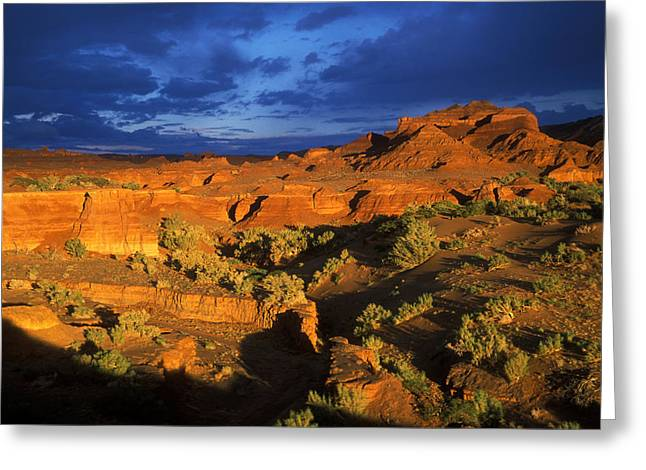 The Grand Canyon Greeting Cards -  The Gobi Greeting Card by Anonymous