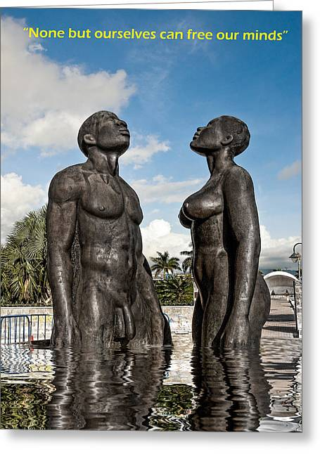 Liberation Greeting Cards -  This Is Emancipation  Greeting Card by Errol Wilson