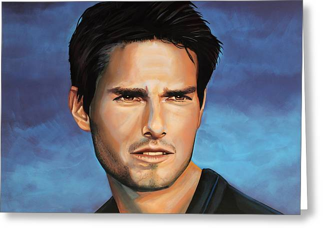 Top Of The Rock Greeting Cards -  Tom Cruise Greeting Card by Paul  Meijering
