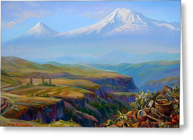 Armenia Greeting Cards -  Vayots Dzor Armenia Greeting Card by Meruzhan Khachatryan