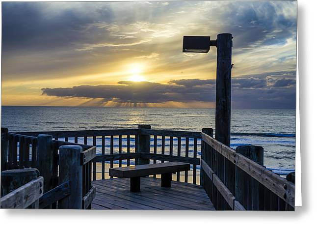 Images Of San Diego Greeting Cards -  View to Sunset Greeting Card by Joseph S Giacalone