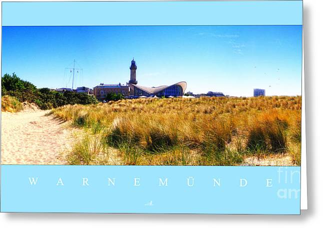 Beach House Pyrography Greeting Cards -  Warnemuende Greeting Card by ARTSHOT - Photographic Art