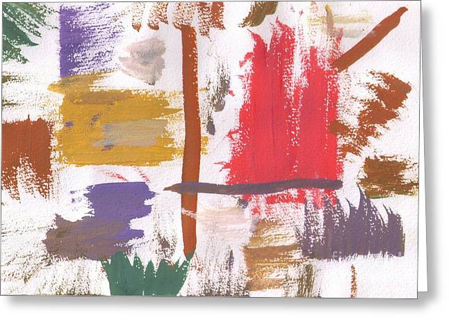 Abstracts Glass Greeting Cards -  Week Activity Greeting Card by Ramil Fakhrutdinov