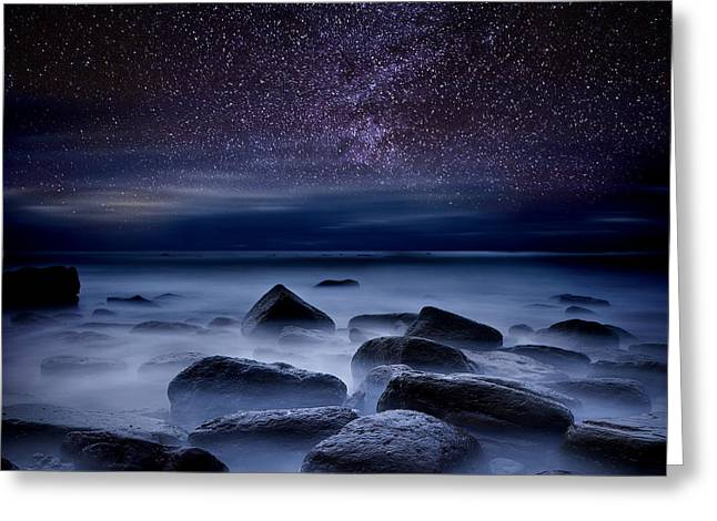 Ocean Moods Greeting Cards -  Where dreams begin Greeting Card by Jorge Maia