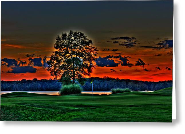 Golf Pictures Greeting Cards -  WOW Golf Greeting Card by Reid Callaway