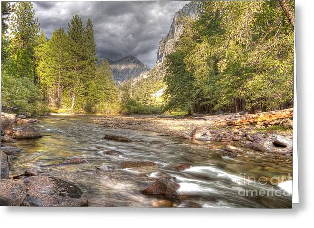 Kings Canyon National Park Greeting Cards - 00108 Kings Canyon National Park Greeting Card by Steve Sturgill