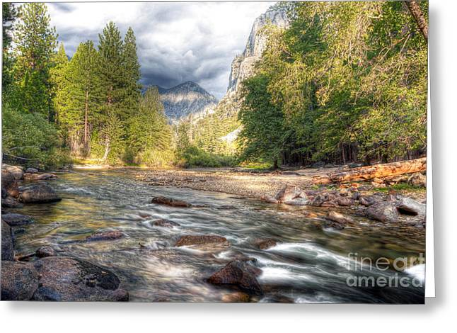 Kings Canyon Greeting Cards - 0035 Kings Canyon National Park Carlifornia Greeting Card by Steve Sturgill