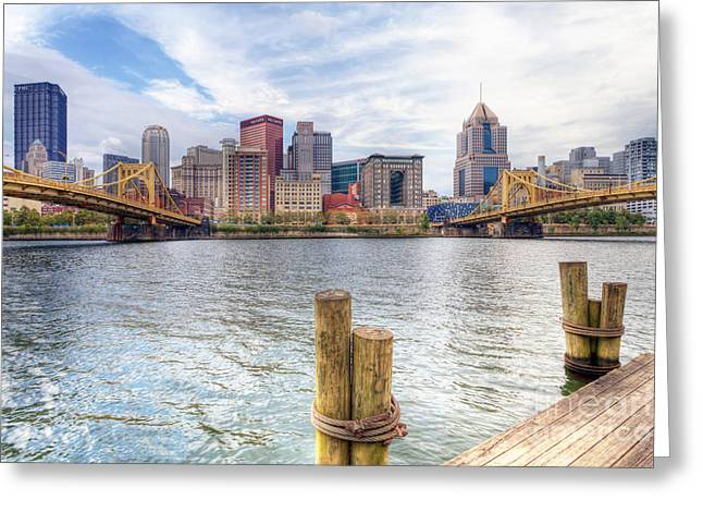 0310 Pittsburgh 3 Greeting Card by Steve Sturgill