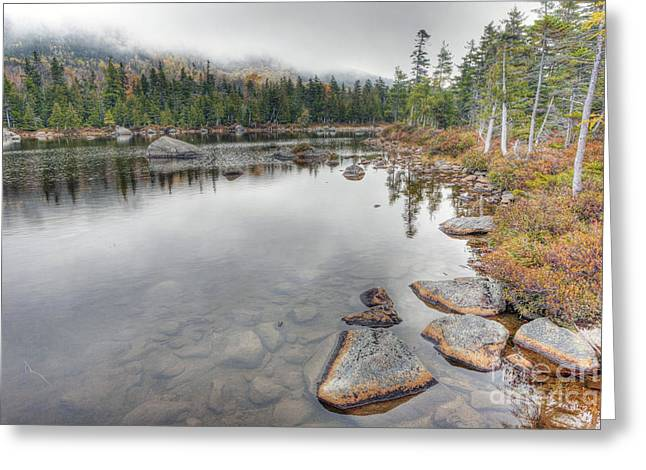 Baxter Park Greeting Cards - 0396 Baxter State Park Maine Greeting Card by Steve Sturgill