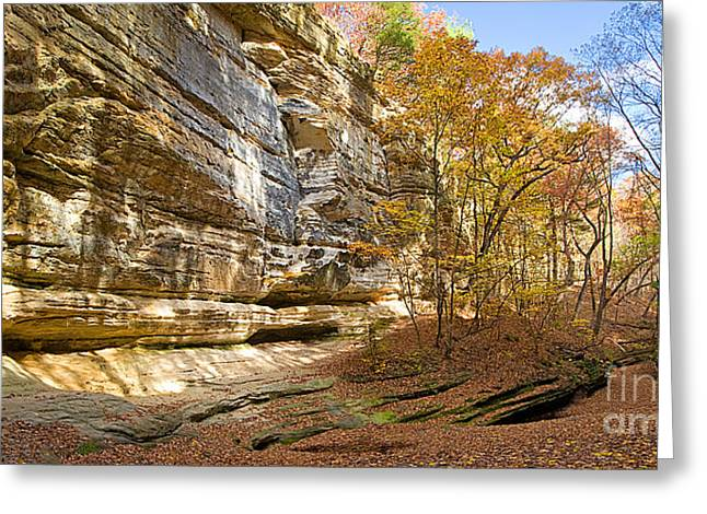 Starved Rock Park Greeting Cards - 0534 Starved Rock State Park Greeting Card by Steve Sturgill