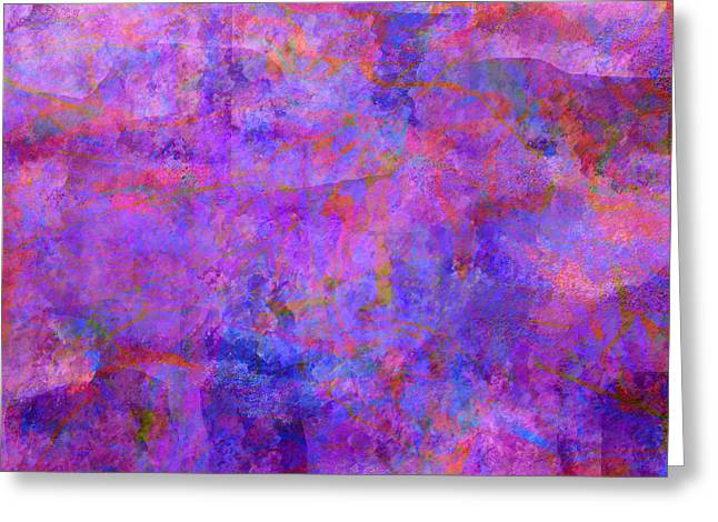 Abstract Digital Greeting Cards - 0564 Abstract Thought Greeting Card by Chowdary V Arikatla