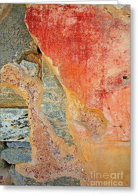 Delos Greeting Cards - 0590 Abstract Greeting Card by Steve Sturgill