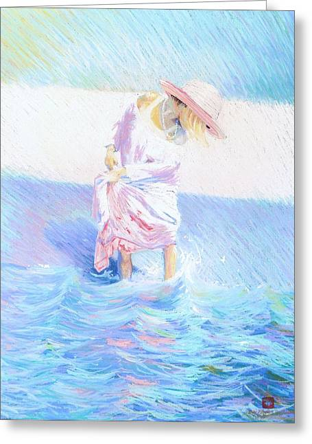 Alabama Pastels Greeting Cards -  Oh My  Greeting Card by Sally Buffington