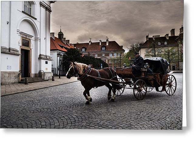 Poland Greeting Cards - Other side of light - I Greeting Card by Nathalie Hope