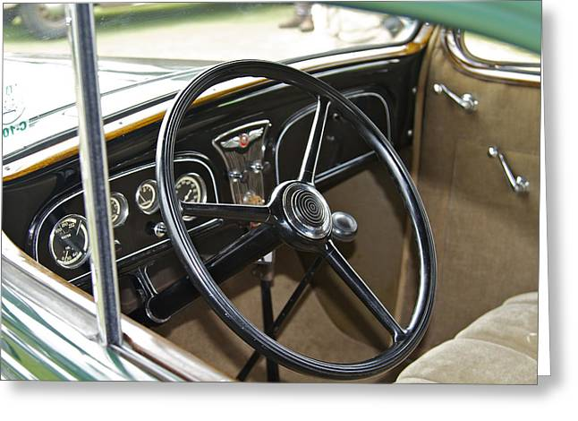 1933 Pontiac Greeting Cards - 1933 Pontiac Greeting Card by Jack R Perry