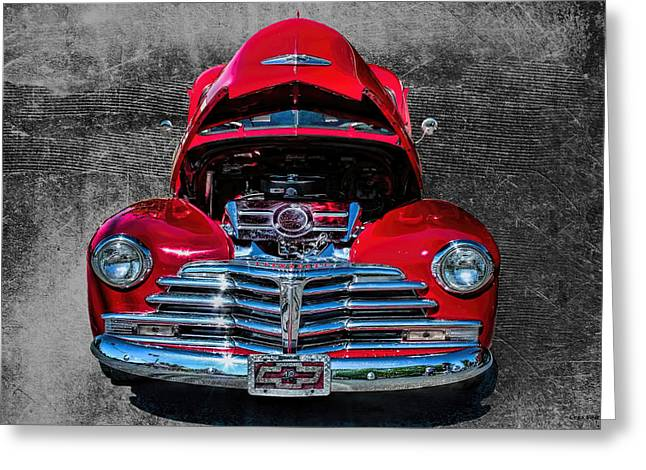 Fleetmaster Greeting Cards - 1948 Chevy 2100 FK Fleetmaster Greeting Card by Lesa Fine