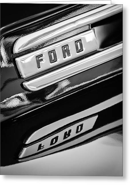 Classic Pickup Greeting Cards - 1948 Ford F-1 Pickup Truck Greeting Card by Jill Reger
