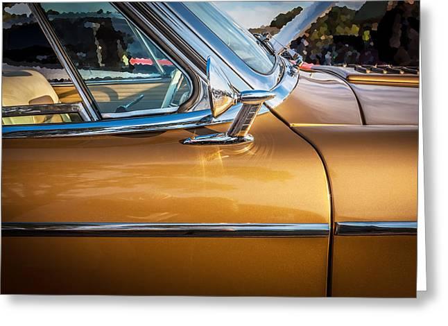 Studebaker Golden Hawk Greeting Cards - 1957 Studebaker Golden Hawk  Greeting Card by Rich Franco