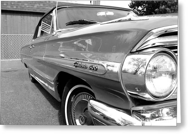 1964 Ford Emblems Greeting Cards - 1964 Ford Galaxie 500 Convertible Greeting Card by Michael Braham