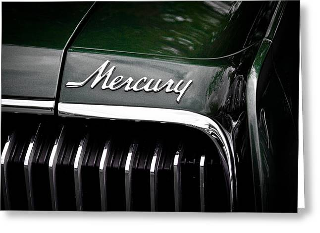 Radiator Badge Greeting Cards - 1968 Mercury Cougar Greeting Card by David Patterson