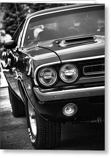 1971 Dodge Challenger R/t Greeting Card by Gordon Dean II