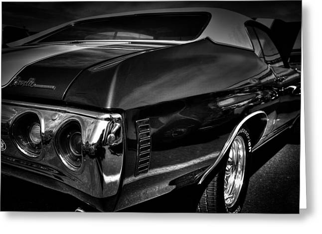 1972 chevrolet chevelle Greeting Card by David Patterson