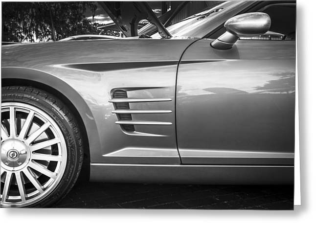 Transmission Greeting Cards - 2005 Chrysler Supercharged Crossfire SRT6 Greeting Card by Rich Franco